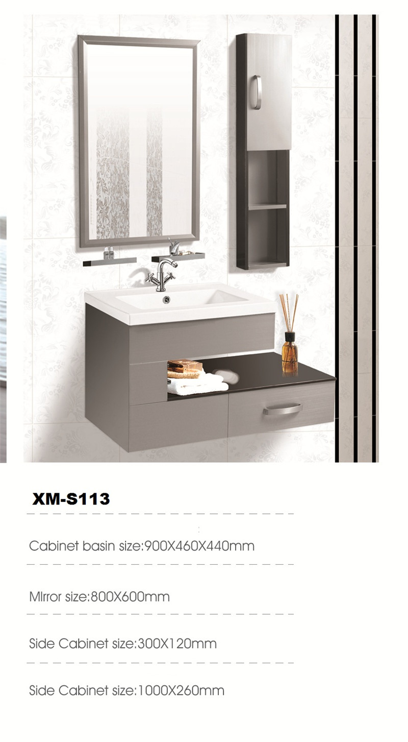 Stainless steel bathroom cabinet - China bathtub manufacture, shower ...